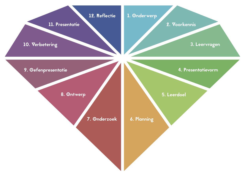 Briljant Model bij Verrijkend Projectonderwijs (uitgeverij Pica)