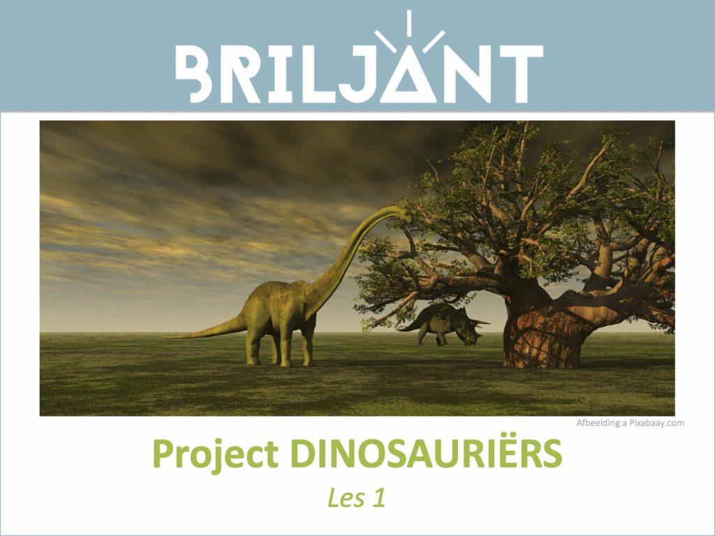 Thumbnail Project DINOSAURUSSEN Briljant Onderwijs