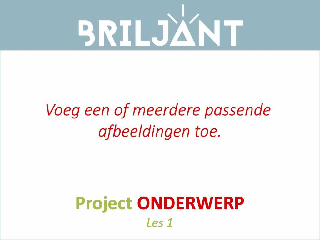 Thumbnail Project EIGEN ONDERWERP Briljant Onderwijs