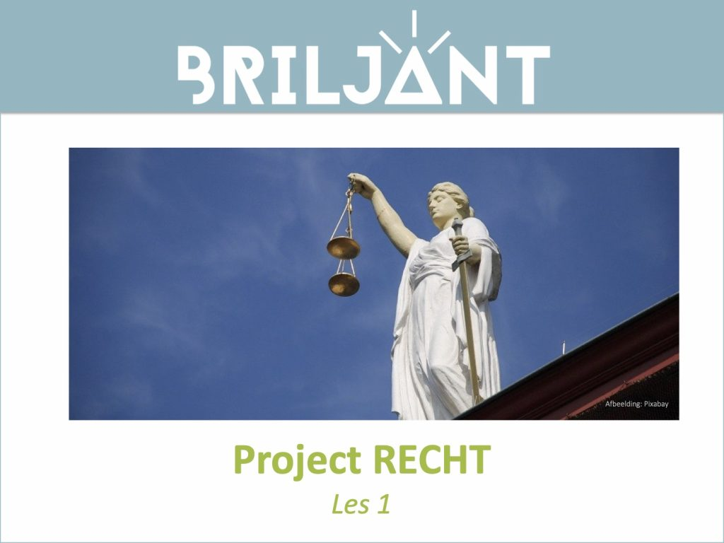 Thumbnail Project RECHT Briljant Onderwijs