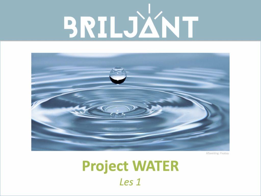 Thumbnail Project WATER Briljant Onderwijs