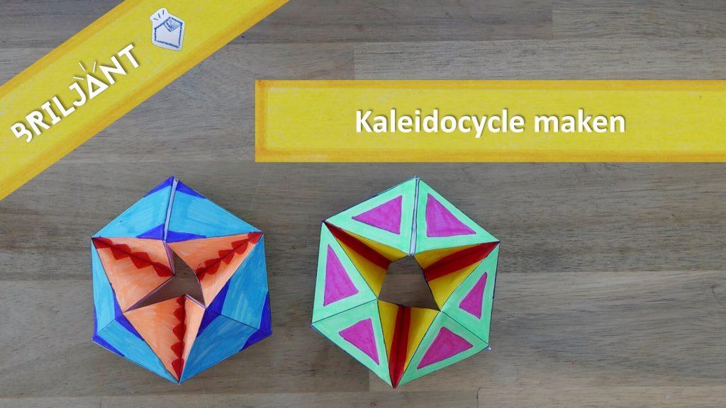 Het Briljant Kwartier Kaleidocycle Flextangle (leren leren)