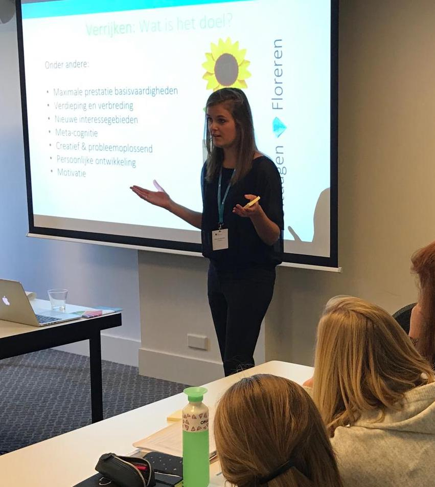 workshop studiemiddag Briljant Onderwijs hoogbegaafdheid