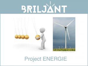 Briljant-project energie